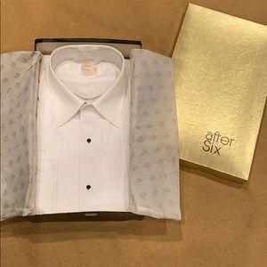 After Six Tuxedo shirt - Vintage